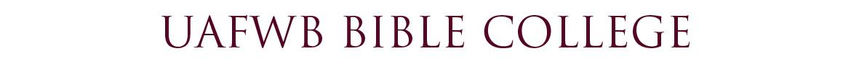 UAFWB Bible College
